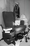 Stuhl im Wohnzimmer Lizenzfreie Stockfotografie