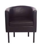 Stuhl lokalisiert auf einem weißen Hintergrund Lizenzfreie Stockfotografie