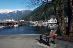 Stuhl am Strand Stockfoto