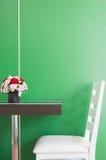 Stuhl und Tabelle Stockfotos