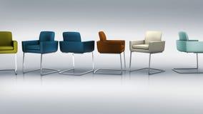 Stuhlgruppe Stockfoto