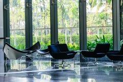 Stuhlinnenraum und -reflexion lizenzfreie stockfotos