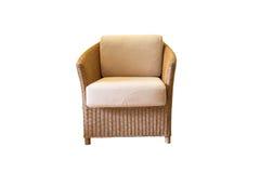 Stuhlmöbel lokalisiert auf weißem Hintergrund Lizenzfreies Stockbild