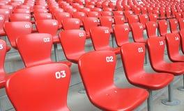 Stuhlreihe lizenzfreie stockfotos