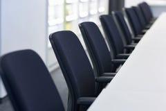 Stuhlreihe lizenzfreie stockfotografie