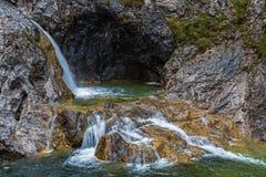 Stuiben vattenfall Arkivbild