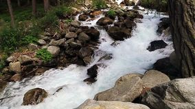 Stuiben waterfall in tyrol stock video footage