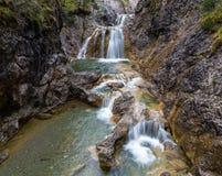 Stuiben waterfall Royalty Free Stock Images
