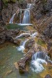 Stuiben waterfall. S near Reutte, Tyrol, Austria Royalty Free Stock Images