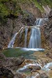Stuiben waterfall. S near Reutte, Tyrol, Austria Royalty Free Stock Photos