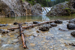 Stuiben waterfall. S near Reutte, Tyrol, Austria Stock Photo