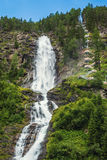 Stuibenfall waterfall in Otztal, Austria Stock Photo