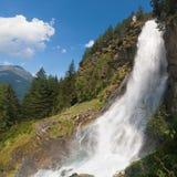 Stuibenfall waterfall Stock Image