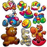 Stuk speelgoed Stock Fotografie