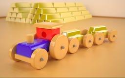 Stuk speelgoed auto Royalty-vrije Stock Foto