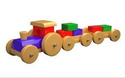 Stuk speelgoed auto royalty-vrije illustratie