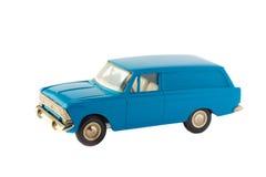 Stuk speelgoed auto geïsoleerd model Stock Fotografie