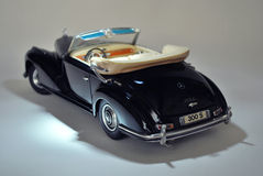 Stuk speelgoed auto modelmercedes-benz 300S 1955 Royalty-vrije Stock Afbeeldingen