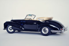 Stuk speelgoed auto modelmercedes-benz 300S 1955 Royalty-vrije Stock Afbeelding
