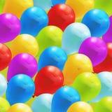 Stuk speelgoed ballons, naadloos patroon Stock Afbeeldingen