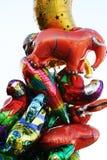 Stuk speelgoed baloons Royalty-vrije Stock Foto