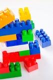 Stuk speelgoed bouw Royalty-vrije Stock Afbeeldingen