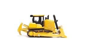 Stuk speelgoed bulldozer Royalty-vrije Stock Afbeeldingen