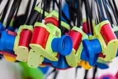 Stuk speelgoed camera's stock afbeeldingen