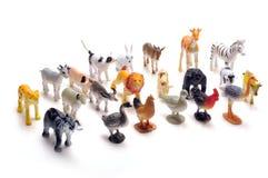 Stuk speelgoed dieren royalty-vrije stock fotografie