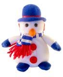 Stuk speelgoed een sneeuwman Stock Foto