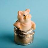 Stuk speelgoed een varken Royalty-vrije Stock Fotografie