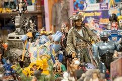 Stuk speelgoed en actiecijfer musuem Royalty-vrije Stock Fotografie