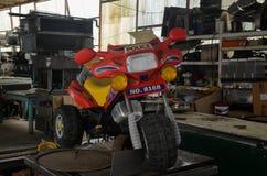 Stuk speelgoed fiets Stock Foto's