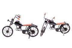 Stuk speelgoed fietsen Stock Foto