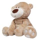 Stuk speelgoed geïsoleerd teddy Stock Foto's