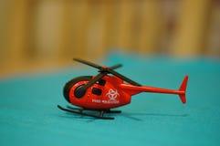 Stuk speelgoed helikopter Royalty-vrije Stock Fotografie