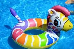 Stuk speelgoed in het water Royalty-vrije Stock Fotografie