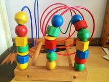 Stuk speelgoed hout Stock Foto