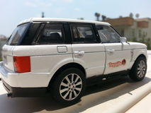Stuk speelgoed jeep Stock Afbeelding