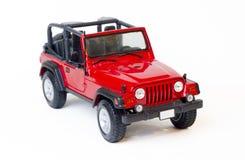 Stuk speelgoed jeep Stock Foto