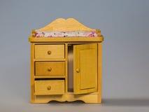 Stuk speelgoed kabinet royalty-vrije stock foto's