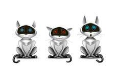 Stuk speelgoed kattenrobot Stock Afbeeldingen