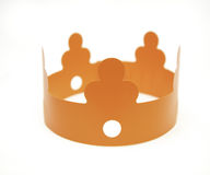 Stuk speelgoed kroon Royalty-vrije Stock Foto