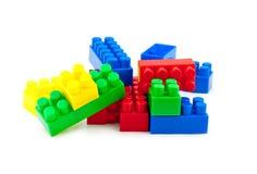 Stuk speelgoed kubussen Royalty-vrije Stock Afbeelding