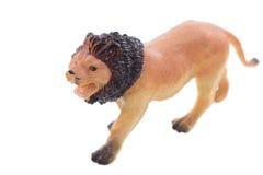 Stuk speelgoed leeuw Stock Foto's