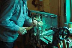 Stuk speelgoed maker Royalty-vrije Stock Afbeeldingen