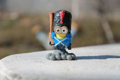 Stuk speelgoed minion Stock Afbeeldingen