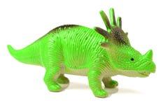 Stuk speelgoed model van een dinosaurus stock fotografie