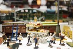 Stuk speelgoed museum in München Stock Fotografie