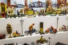 Stuk speelgoed museum in München Stock Foto